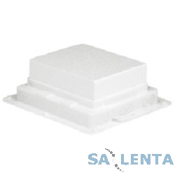 Legrand 89630 Пластиковая монтажная коробка — для встраивания напольных коробок на 12 модулей или с глубиной 65 мм на 10 модулей