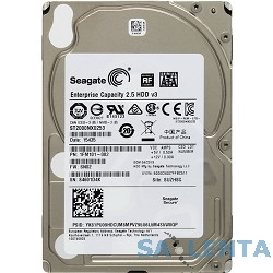 2TB Seagate Enterprise Capacity 2.5 HDD (ST2000NX0253) {SATA 6Gb/s, 7200 rpm, 128 mb, 2.5″}