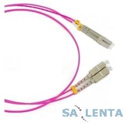Hyperline FC-D2-504-LC/PR-LC/PR-H-1M-LSZH-MG Патч-корд волоконно-оптический (шнур) MM 50/125(OM4), LC-LC, duplex, LSZH, 1 м
