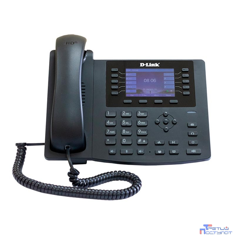 D-Link DPH-400SE/F4A Телефон VoIP с поддержкой PoE