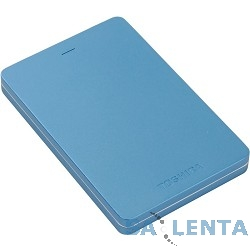 Toshiba Portable HDD 500Gb Stor.e Canvio Alu HDTH305EL3AA {USB3.0, 2.5″, голубой}