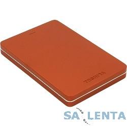 Toshiba Portable HDD 500Gb Stor.e Canvio Alu HDTH305ER3AA {USB3.0, 2.5″, красный}