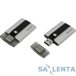 SanDisk USB Drive 64Gb iXpand SDIX-064G-G57 {USB2.0, Lightning, Silver}