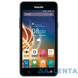 Philips Xenium V526 Navy {5″,1280 x 720,8 ГБ,13 Мп+2 Мп,LTE ,4G, 3G,GPS, A-GPS, ГЛОНАСС,Android 5.1}