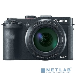 Canon PowerShot G3 X черный {20.2Mpix Zoom25x 3.2'' 1080p SDXC/SD/SDHC CMOS IS opt 5minF rotLCD TouLCD 5.9fr/s RAW 60fr/s HDMI/WiFi/NB-10L}