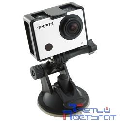 Экшн-камера Gembird ACAM-003, 8MP, 1920 x 1080 FHD (60 fps), WIFI, ЖК дисплей 2.0', TF/Micro SDHC, USB 2.0, подводный бокс + крепления.
