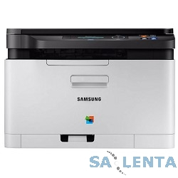 Samsung SL-C480 {цветное мфу A4, P/C/S, 18/4ppm, 2400×600, 128Mb, USB2.0A4;ОС: Windows, Linux, Mac OS}  [SL-C480/XEV]