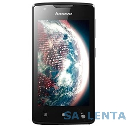 Lenovo A1000 Black DS 3G {4″,480х800,8 ГБ,5 МПикс,Android 5.0} [PA1R0025RU]