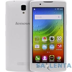 Lenovo A2010 MT6735M (1.0Ghz)/4,5» TFT/854×480/1Gb/8Gb/Dual SIM/4G/SD/WiFi/BT/5MP/And 5.1/White [PA1J0006RU]