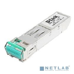 D-Link DEM-220T/C1A WDM SFP-трансивер с 1 портом 100BASE-BX-D (Tx:1550 нм, Rx:1310 нм) для одномодового оптического кабеля (до 20 км)