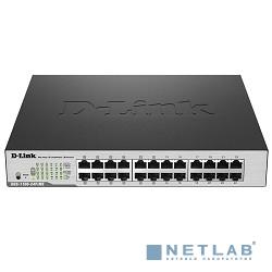 D-Link DGS-1100-24P/ME/B2A Настраиваемый коммутатор 2 уровня с 12 портами 10/100/1000Base-T и 12 портами 10/100/1000Base-T с поддержкой РоЕ