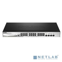D-Link DGS-1510-28X/ME/A1A PROJ Управляемый коммутатор 2 уровня с 24 портами 10/100/1000Base-Т и 4 портами 10GBase-X SFP+