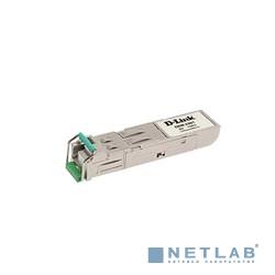 D-Link DEM-331T/A1A/D1A WDM SFP-трансивер с 1 портом 1000BASE-BX-D (Tx:1550 нм, Rx:1310 нм) для одномодового оптического кабеля (до 40 км)