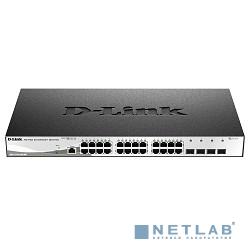 D-Link DGS-1210-28X/ME/B1A Управляемый коммутатор 2 уровня с 24 портами 10/100/1000Base-T и 4 портами 10GBase-X SFP+