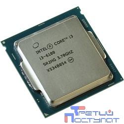 CPU Intel Core i3-6100 Skylake OEM {3.70Ггц, 3МБ, Socket 1151}