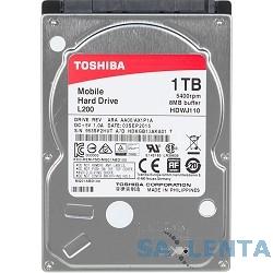 1TB Toshiba (HDWJ110UZSVA) {Serial ATA III, 5400 rpm, 8Mb buffer, 2.5″}