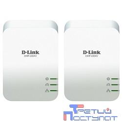 D-Link DHP-601AV/B1A Комплект из двух PowerLine-адаптеров DHP-600AV