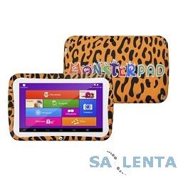 Планшетный компьютер «MonsterPad» леопард (ОРАНЖЕВЫЙ) {7.0″1024х600,8Gb,1Gb,Wifi,Android 5.1} [4690539001805]