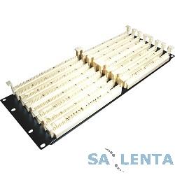 Hyperline 110C-19-400P-4U 400 парная кросс-панель 110 типа, 19″ 4U (без модулей)