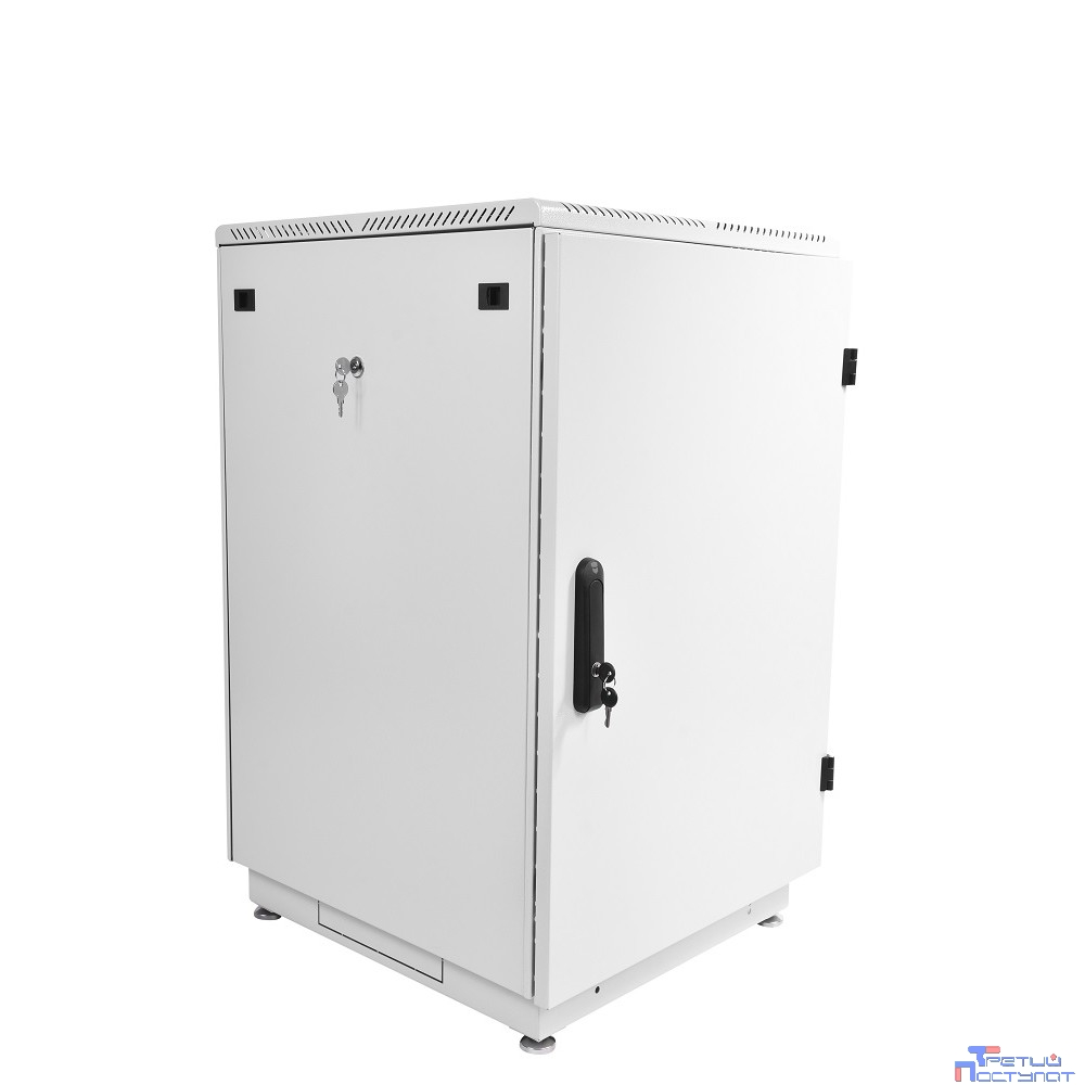 ЦМО! Шкаф телеком. напольный 18U (600x800) дверь металл (ШТК-М-18.6.8-3AAA) (2 коробки)