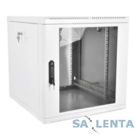 ЦМО! Шкаф телеком. настенный разборный 15U (600х550), съемные стенки, дверь стекло (ШРН-М-15.500) (1 коробка)