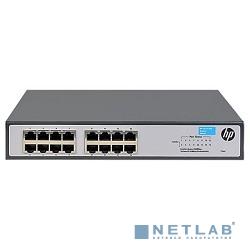 HP JH016A Коммутатор HPE 1420-16G неуправляемый 19U 16x10/100/1000BASE-T