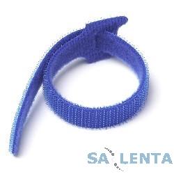 Hyperline WAS-155-BL Хомут-липучка синяя 155мм