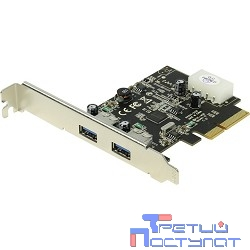 ST-Lab U1130 RTL {PCI-E x1, 2 ext (USB3.1)  LP bracket}