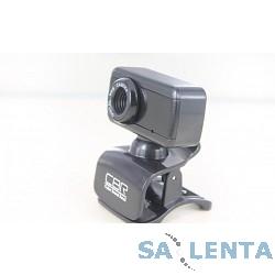 Вебкамера CBR CW832M Silver, универс. крепление, 4 линзы, эффекты, микрофон