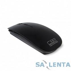 CBR CM700 Black USB, Мышь 2,4 Ггц 800/1200/1600dpi, глянец, slim-корпус