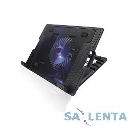 CROWN  Подставка для ноутбука CMLS-926 (Black) 15,6″, 1*Fan,blue light,2*USB