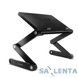 """CROWN  Столик для ноутбука CMLS-102 ( до 15,6"""", размеры панели (Д*Ш): 38*26см, регулируемая высота до 48см)"""
