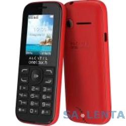 "Alcatel OT1052D Deep Red {1.8"" ,128 x 160,  Bluetooth,MP3, 2 sim} [1052D-3CALRU1]"