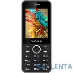 TEXET TM-D301 мобильный телефон цвет черный-серебристый