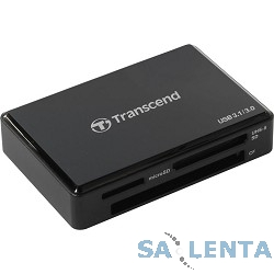 USB 3.0 Multi-Card Reader F9 All in 1 Transcend [TS-RDF9K] Black