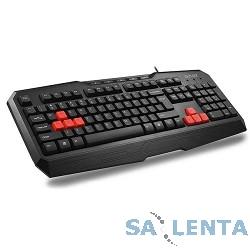 Клавиатура DELUX «K9020(U)» 104 + 5 кн (черная) , USB