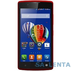 Lenovo A2010 MT6735M (1.0Ghz)/4,5» TFT/854×480/1Gb/8Gb/Dual SIM/4G/SD/WiFi/BT/5MP/And 5.1/Red [PA1J0142RU]