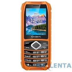 TEXET TM-508R цвет черный-оранжевый Мобильный телефон