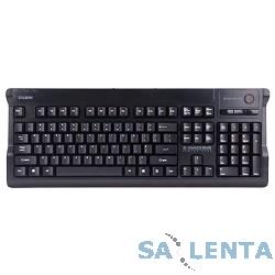 Zalman ZM-K600S black USB+PS2 {Клавиатура мембранная игровая клавиатура, поддержка мульти нажатий, 8 красных дополнительных кнопок}