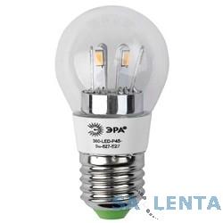 ЭРА LED smd P(G)45-5w-827-E27