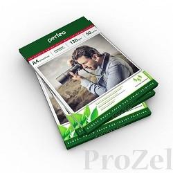 Perfeo PF-GLA4-130/50  Бумага Perfeo глянцевая 50л, А4 130 г/м2