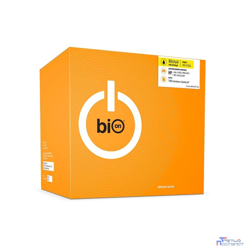 Bion CF352A Картридж для HP CLJ Pro MFP M176N/M177FW , Y, 1000 страниц    [Бион]