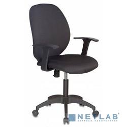 Бюрократ CH-585/V398-20 Кресло (черный V398-20 ткань крестовина пластиковая)