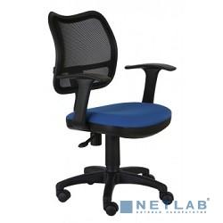 Бюрократ CH-797AXSN/26-21 Кресло (спинка сетка черный сиденье синий 26-21 ткань крестовина пластиковая)