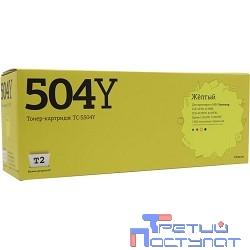 T2 CLT-Y504S Картридж T2 (TC-S504Y) для Samsung CLP-415/CLX-4195/Xpress C1810W (1800 стр.) жёлтый, с чипом