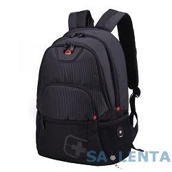 Рюкзак Continent BP-305 BK нейлон, черная, до 16″
