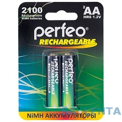 Perfeo AA2100mAh/2BL (2шт. в уп-ке)