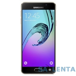 Samsung Galaxy A3 (2016) SM-A310F gold DS {Android 5.1 ,4.7″,1280×720, NFC, Wi-Fi, GPS, ГЛОНАСС,  13 МП+5МП, 16 Гб,microSD, 2 sim}  [SM-A310FZDDSER]