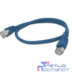Bion Патч корд UTP кат.5е 0.25м синий CCA   [Бион][BNPP12-0.25M/B]