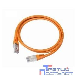 Bion Патч корд UTP кат.5е 0.5м оранжевый CCA  [Бион][BNPP12-0.5M/O]